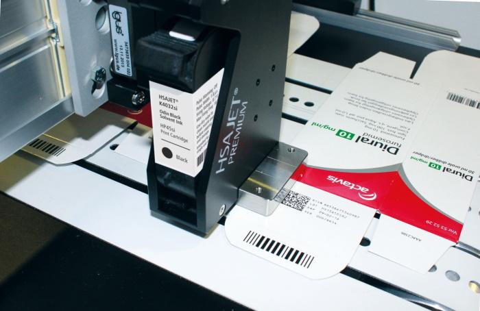 Industrial thermal inkjet printers