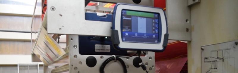 Industrial thermal transfer printers